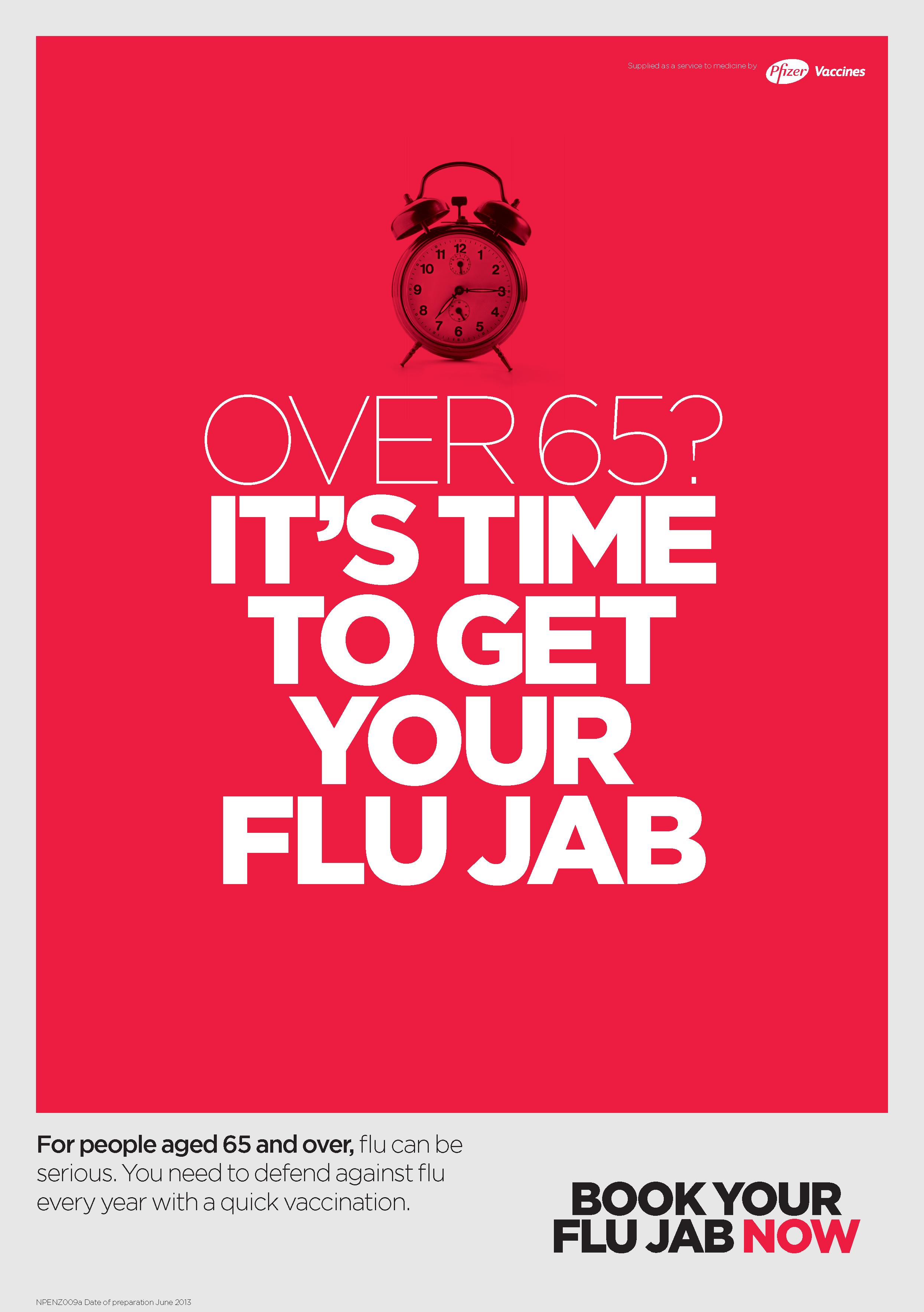 Flu Shot Poster Design - Image Mag